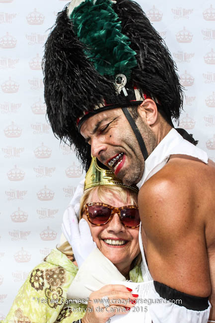 38 - Yes we Cannes - Festival de Cannes 2015 - Crazy Horse Guard - 22052015 (c) Benjamin Dubuis 2015