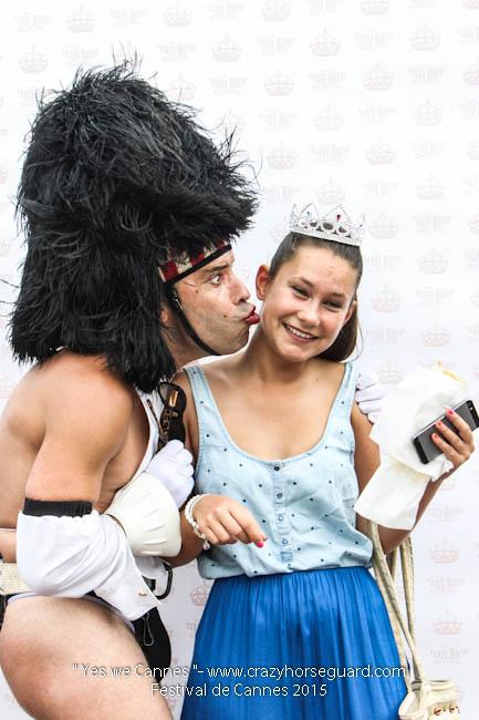 39 - Yes we Cannes - Festival de Cannes 2015 - Crazy Horse Guard - 19052015 (c) Benjamin Dubuis 2015
