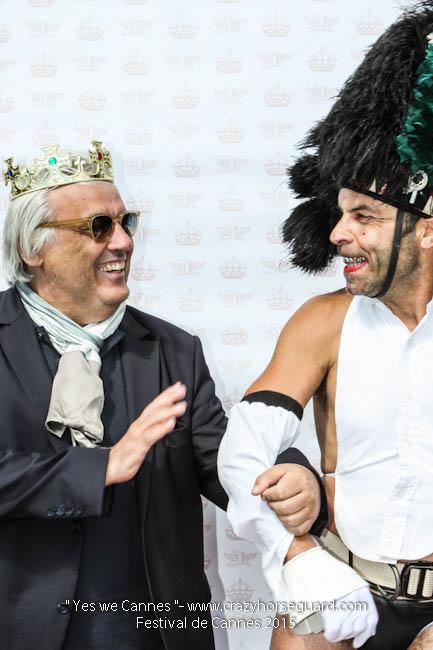 39 - Yes we Cannes - Festival de Cannes 2015 - Crazy Horse Guard - 22052015 (c) Benjamin Dubuis 2015
