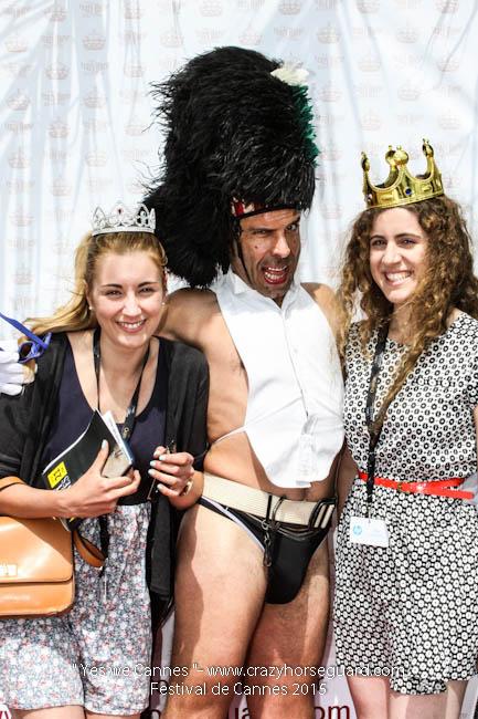 4 - Yes we Cannes - Festival de Cannes 2015 - Crazy Horse Guard - 21052015 (c) Benjamin Dubuis 2015