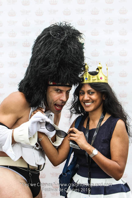 40 - Yes we Cannes - Festival de Cannes 2015 - Crazy Horse Guard - 19052015 (c) Benjamin Dubuis 2015