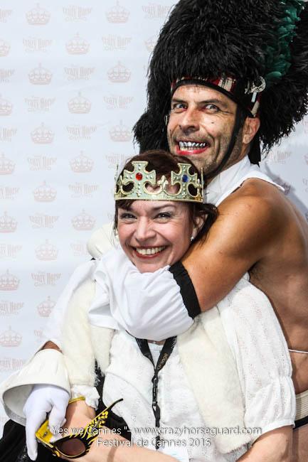 40 - Yes we Cannes - Festival de Cannes 2015 - Crazy Horse Guard - 22052015 (c) Benjamin Dubuis 2015