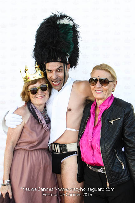 40 - Yes we Cannes - Festival de Cannes 2015 - Crazy Horse Guard - (c) Benjamin Dubuis 2015