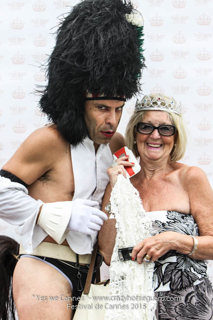 41 - Yes we Cannes - Festival de Cannes 2015 - Crazy Horse Guard - 19052015 (c) Benjamin Dubuis 2015
