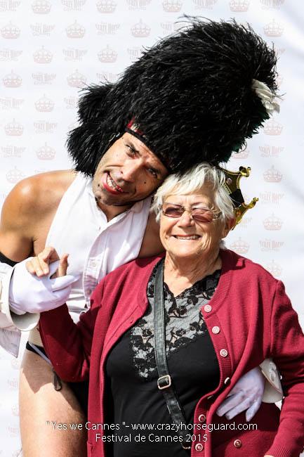 41 - Yes we Cannes - Festival de Cannes 2015 - Crazy Horse Guard - 21052015 (c) Benjamin Dubuis 2015