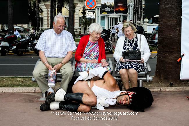 41 - Yes we Cannes - Festival de Cannes 2015 - Crazy Horse Guard - 22052015 (c) Benjamin Dubuis 2015