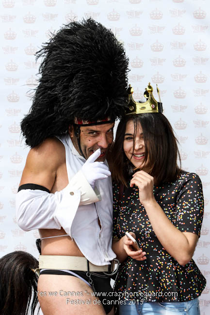 42 - Yes we Cannes - Festival de Cannes 2015 - Crazy Horse Guard - 21052015 (c) Benjamin Dubuis 2015