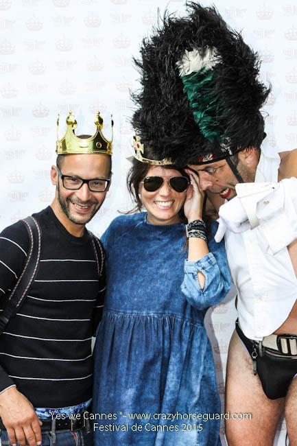 42 - Yes we Cannes - Festival de Cannes 2015 - Crazy Horse Guard - 22052015 (c) Benjamin Dubuis 2015