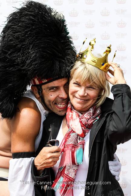 43 - Yes we Cannes - Festival de Cannes 2015 - Crazy Horse Guard - 21052015 (c) Benjamin Dubuis 2015
