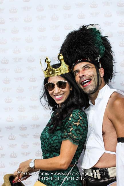 43 - Yes we Cannes - Festival de Cannes 2015 - Crazy Horse Guard - 22052015 (c) Benjamin Dubuis 2015