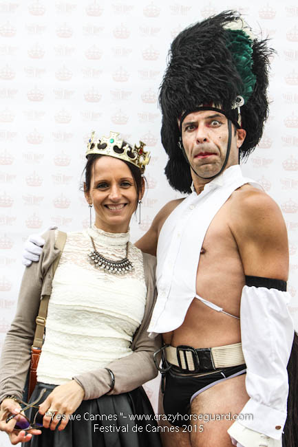 44 - Yes we Cannes - Festival de Cannes 2015 - Crazy Horse Guard - 19052015 (c) Benjamin Dubuis 2015