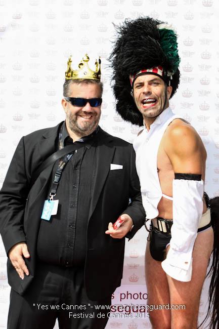 44 - Yes we Cannes - Festival de Cannes 2015 - Crazy Horse Guard - 21052015 (c) Benjamin Dubuis 2015
