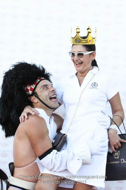 44 - Yes we Cannes - Festival de Cannes 2015 - Crazy Horse Guard - (c) Benjamin Dubuis 2015