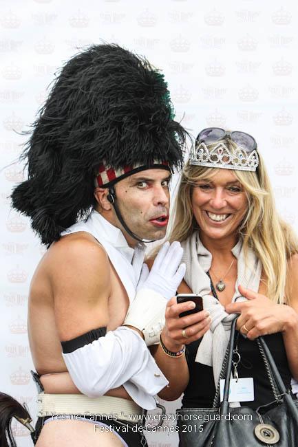 45 - Yes we Cannes - Festival de Cannes 2015 - Crazy Horse Guard - 19052015 (c) Benjamin Dubuis 2015