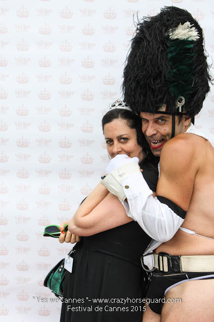 46 - Yes we Cannes - Festival de Cannes 2015 - Crazy Horse Guard - 19052015 (c) Benjamin Dubuis 2015