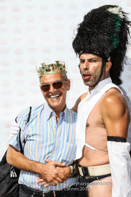 46 - Yes we Cannes - Festival de Cannes 2015 - Crazy Horse Guard - 22052015 (c) Benjamin Dubuis 2015