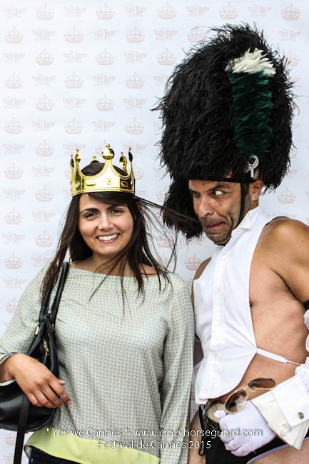 47 - Yes we Cannes - Festival de Cannes 2015 - Crazy Horse Guard - 21052015 (c) Benjamin Dubuis 2015