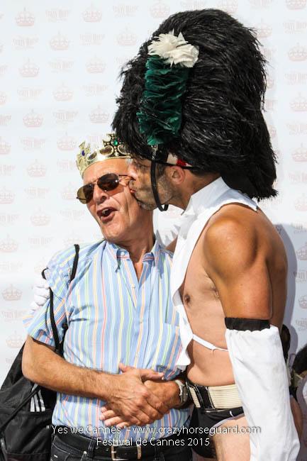 47 - Yes we Cannes - Festival de Cannes 2015 - Crazy Horse Guard - 22052015 (c) Benjamin Dubuis 2015