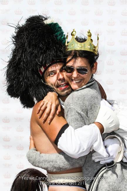 49 - Yes we Cannes - Festival de Cannes 2015 - Crazy Horse Guard - 22052015 (c) Benjamin Dubuis 2015