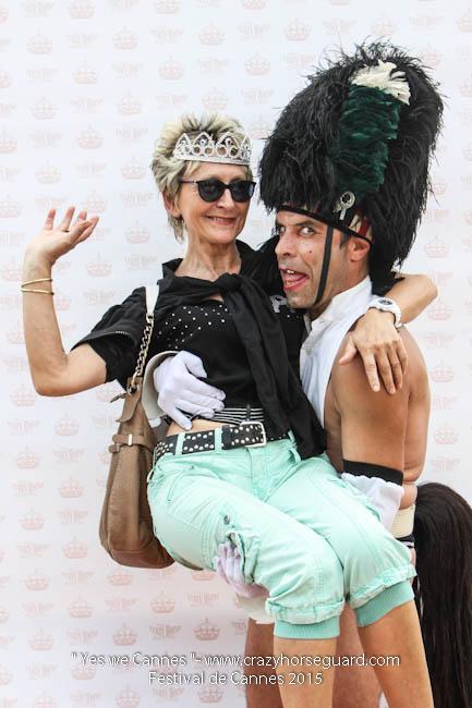 5 - Yes we Cannes - Festival de Cannes 2015 - Crazy Horse Guard - 19052015 (c) Benjamin Dubuis 2015