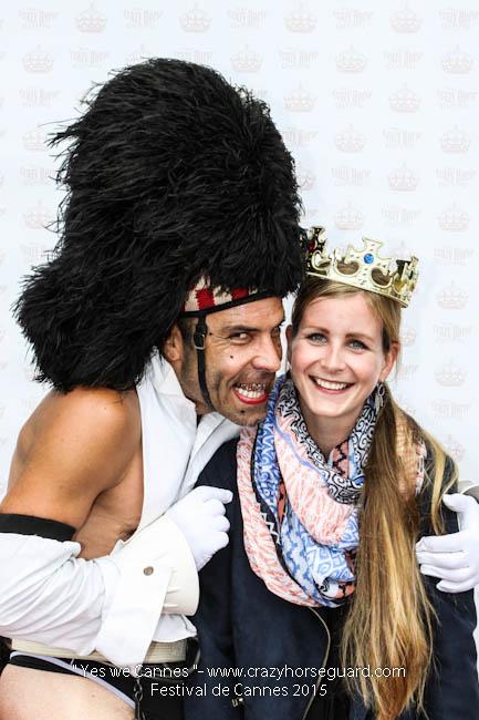 5 - Yes we Cannes - Festival de Cannes 2015 - Crazy Horse Guard - 21052015 (c) Benjamin Dubuis 2015