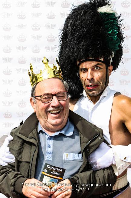 50 - Yes we Cannes - Festival de Cannes 2015 - Crazy Horse Guard - 21052015 (c) Benjamin Dubuis 2015