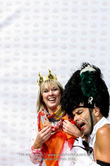 52 - Yes we Cannes - Festival de Cannes 2015 - Crazy Horse Guard - 21052015 (c) Benjamin Dubuis 2015