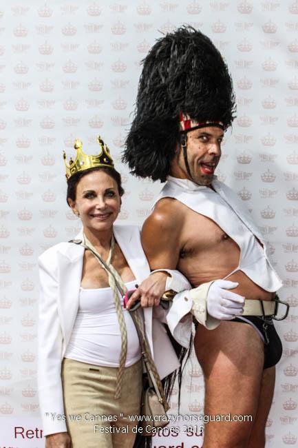53 - Yes we Cannes - Festival de Cannes 2015 - Crazy Horse Guard - 21052015 (c) Benjamin Dubuis 2015