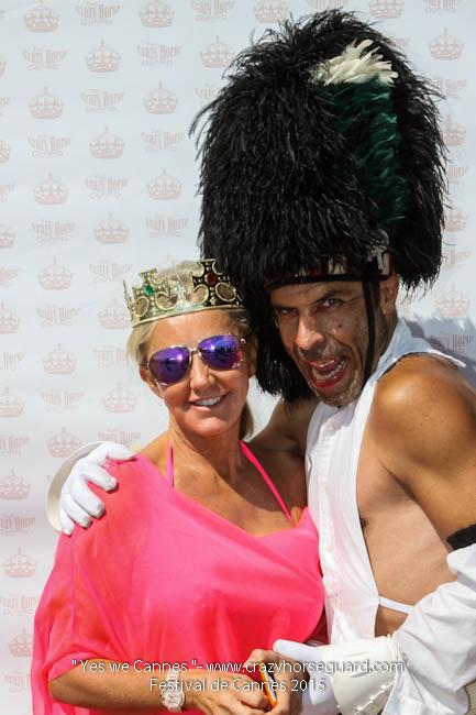 53 - Yes we Cannes - Festival de Cannes 2015 - Crazy Horse Guard - 22052015 (c) Benjamin Dubuis 2015