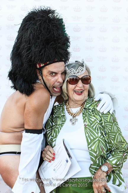 53 - Yes we Cannes - Festival de Cannes 2015 - Crazy Horse Guard - (c) Benjamin Dubuis 2015