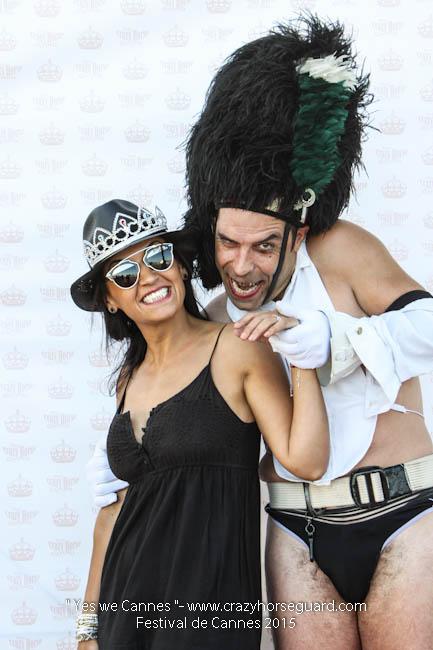 54 - Yes we Cannes - Festival de Cannes 2015 - Crazy Horse Guard - (c) Benjamin Dubuis 2015