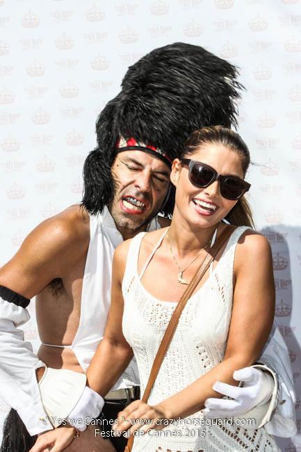 55 - Yes we Cannes - Festival de Cannes 2015 - Crazy Horse Guard - 22052015 (c) Benjamin Dubuis 2015
