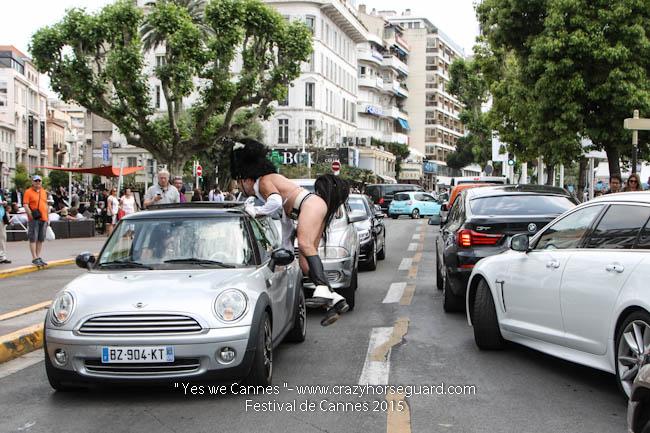 56 - Yes we Cannes - Festival de Cannes 2015 - Crazy Horse Guard - 19052015 (c) Benjamin Dubuis 2015