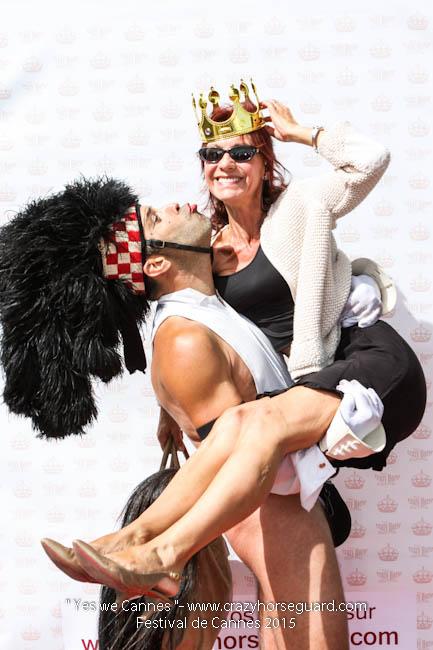56 - Yes we Cannes - Festival de Cannes 2015 - Crazy Horse Guard - 21052015 (c) Benjamin Dubuis 2015