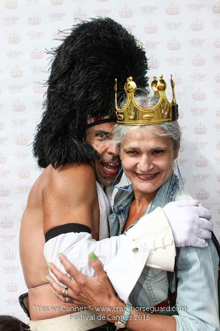 57 - Yes we Cannes - Festival de Cannes 2015 - Crazy Horse Guard - 21052015 (c) Benjamin Dubuis 2015