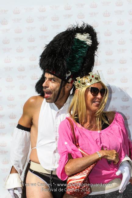 58 - Yes we Cannes - Festival de Cannes 2015 - Crazy Horse Guard - 22052015 (c) Benjamin Dubuis 2015