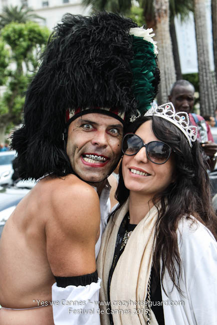 59 - Yes we Cannes - Festival de Cannes 2015 - Crazy Horse Guard - 19052015 (c) Benjamin Dubuis 2015