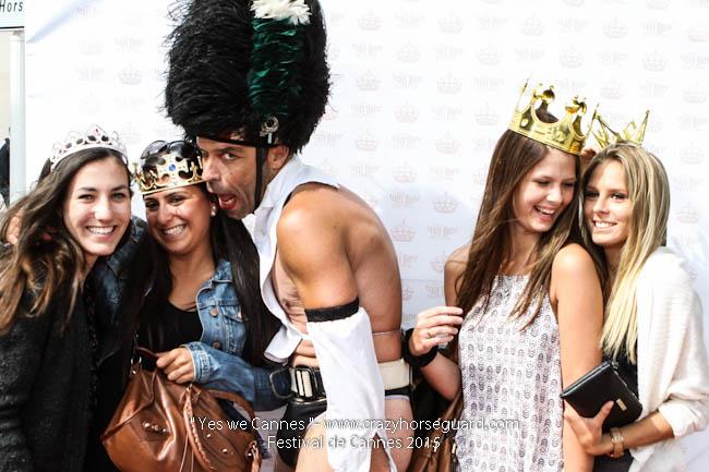 59 - Yes we Cannes - Festival de Cannes 2015 - Crazy Horse Guard - 21052015 (c) Benjamin Dubuis 2015