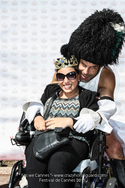 59 - Yes we Cannes - Festival de Cannes 2015 - Crazy Horse Guard - 22052015 (c) Benjamin Dubuis 2015