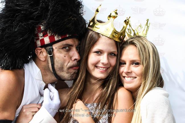 60 - Yes we Cannes - Festival de Cannes 2015 - Crazy Horse Guard - 21052015 (c) Benjamin Dubuis 2015