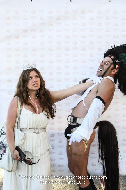 60 - Yes we Cannes - Festival de Cannes 2015 - Crazy Horse Guard - (c) Benjamin Dubuis 2015