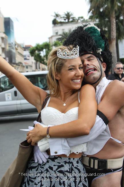 61 - Yes we Cannes - Festival de Cannes 2015 - Crazy Horse Guard - 19052015 (c) Benjamin Dubuis 2015