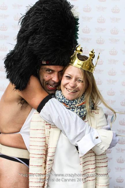 61 - Yes we Cannes - Festival de Cannes 2015 - Crazy Horse Guard - 21052015 (c) Benjamin Dubuis 2015