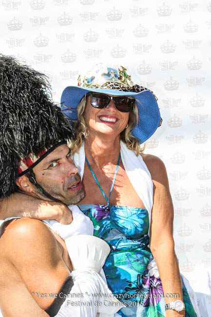 61 - Yes we Cannes - Festival de Cannes 2015 - Crazy Horse Guard - 22052015 (c) Benjamin Dubuis 2015