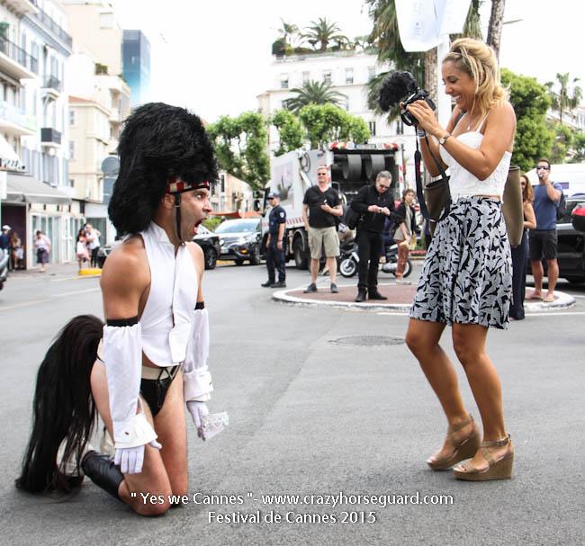 62 - Yes we Cannes - Festival de Cannes 2015 - Crazy Horse Guard - 19052015 (c) Benjamin Dubuis 2015