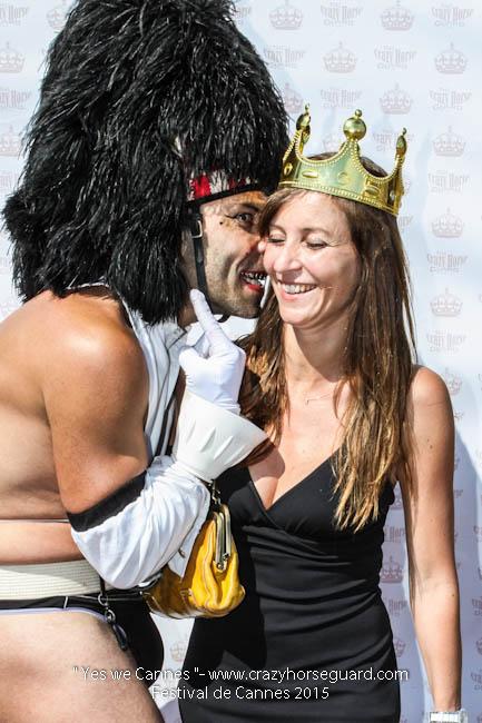 62 - Yes we Cannes - Festival de Cannes 2015 - Crazy Horse Guard - 22052015 (c) Benjamin Dubuis 2015