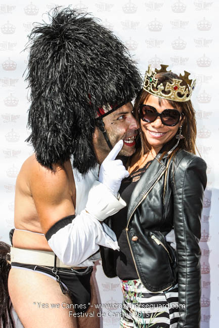 63 - Yes we Cannes - Festival de Cannes 2015 - Crazy Horse Guard - 22052015 (c) Benjamin Dubuis 2015