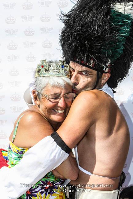 64 - Yes we Cannes - Festival de Cannes 2015 - Crazy Horse Guard - 22052015 (c) Benjamin Dubuis 2015