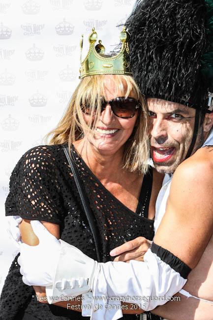 65 - Yes we Cannes - Festival de Cannes 2015 - Crazy Horse Guard - 22052015 (c) Benjamin Dubuis 2015