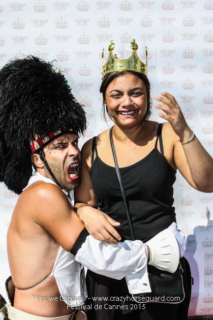 66 - Yes we Cannes - Festival de Cannes 2015 - Crazy Horse Guard - 22052015 (c) Benjamin Dubuis 2015